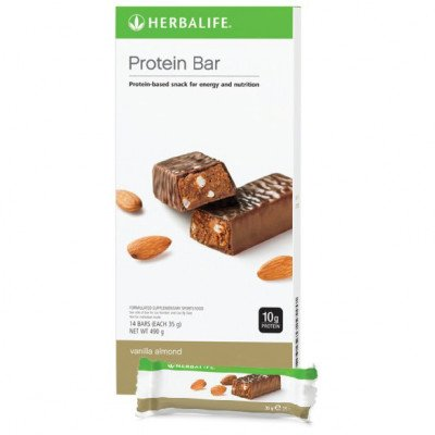 Batoane Proteice Herbalife - Vanilie şi Migdale