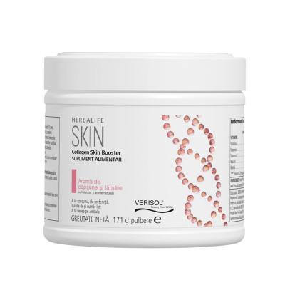 Collagen SKIN Booster Căpșune și Lămâie