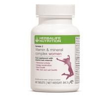 Formula 2 Complex de Vitamine și Minerale pentru Femei