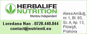 Info Membru Independent Herbalife Nutrition