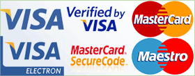 Cumpărături sigure cu VISA şi Mastercard