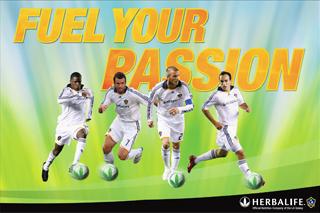 Herbalife - sponsor nutrţional al LA Galaxy