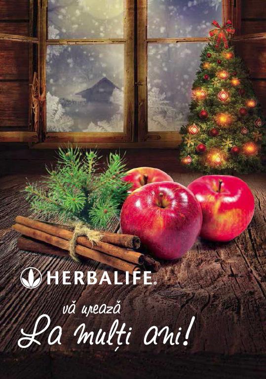 Herbalife - promo sarbatori iarna